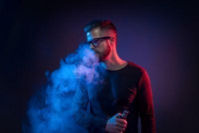 vaping e-liquid instead of cigarettes