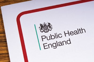 Public Health England Report on the Desk